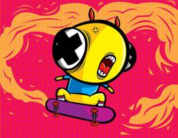 skate or eat... by orkibal