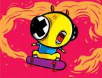 skate or eat...