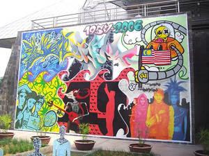 Merdeka Mural