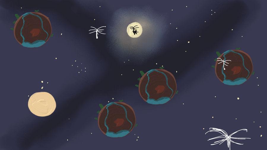 Concept art - Small Worlds by doppioslash
