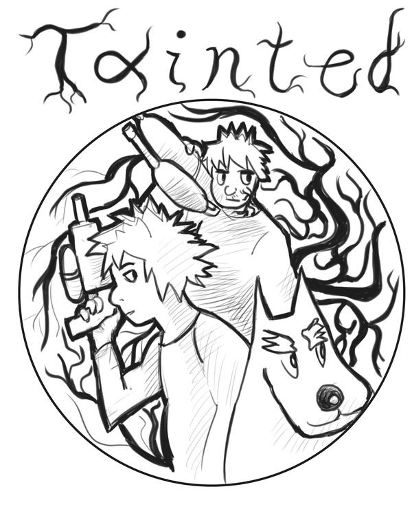 Tainted Game Cover by doppioslash