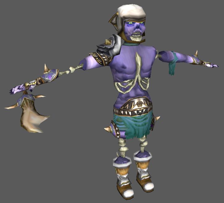 Warcraft 3 model editor collision shape - 52