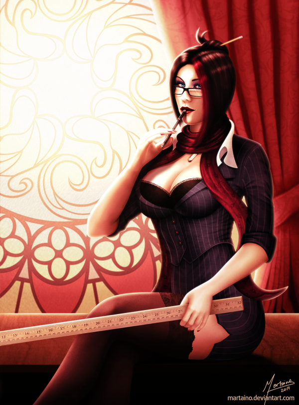 Headmistress Fiora by martaino