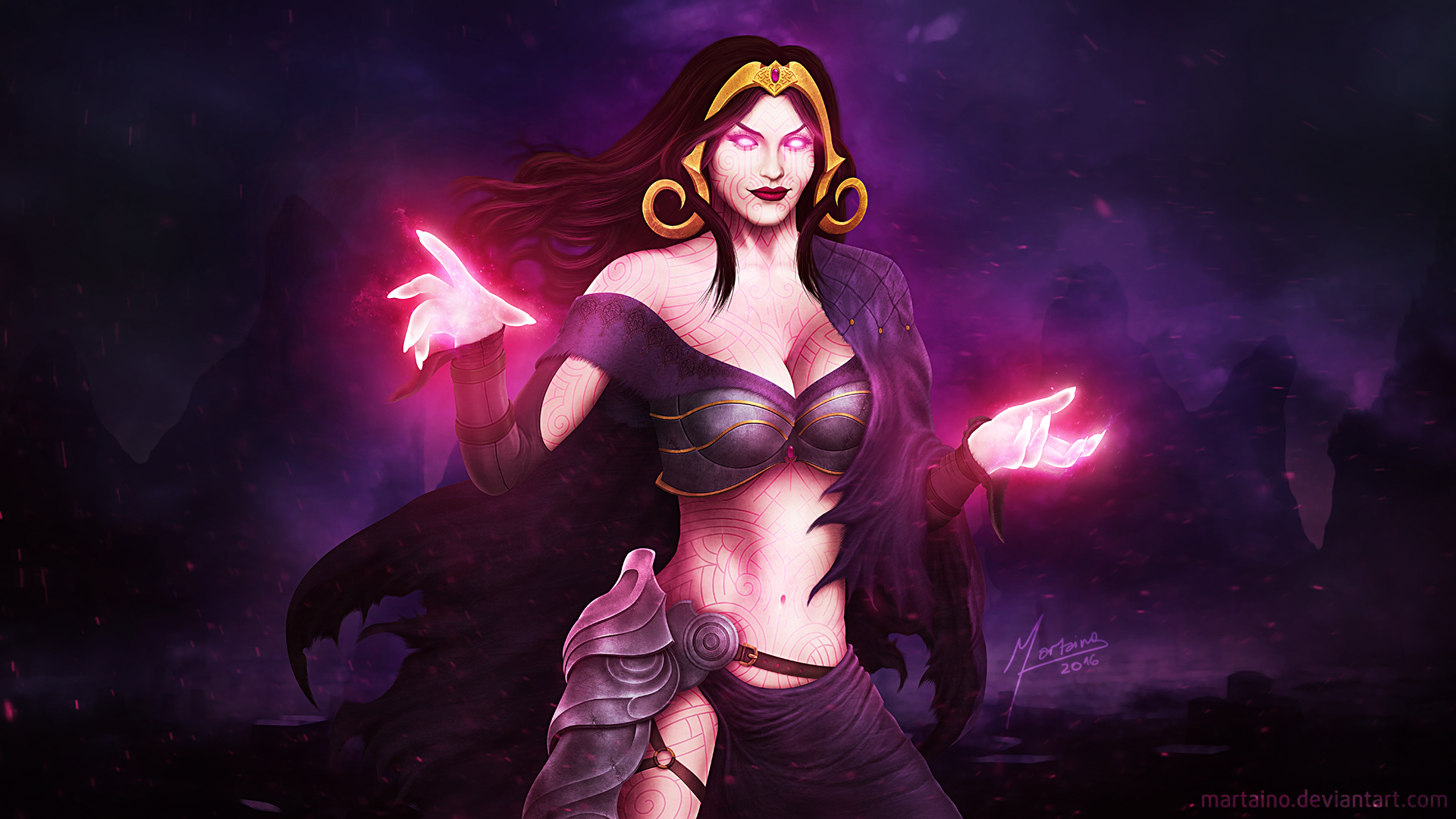 Mtg Liliana Vess By Martaino On Deviantart