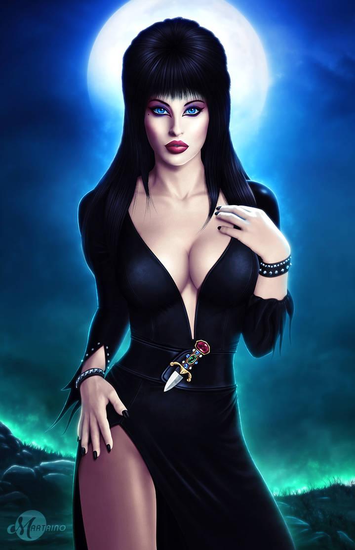 Elvira Mistress Of The Dark By Martaino On Deviantart