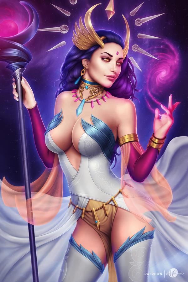 Lana Solaris (OC) by martaino