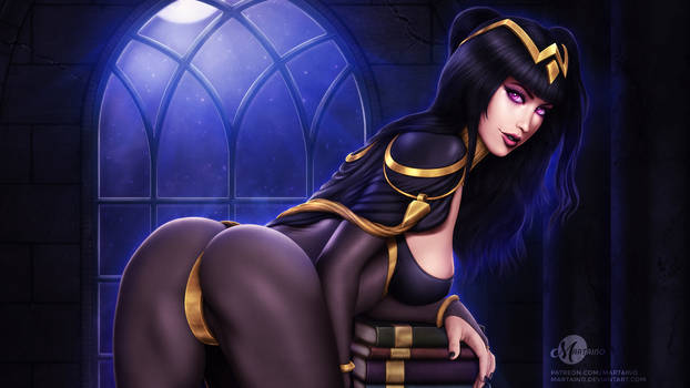 Tharja Wallpaper .nsfw opt.