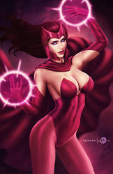 Scarlet Witch .nude opt. by martaino