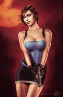 Jill Valentine .nsfw opt. by martaino