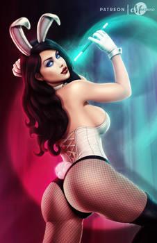 Bunny Girl Zatanna .nsfw opt.