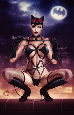 Catwoman - Lingerie .nsfw opt.