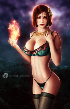 Triss Merigold - Lingerie Version