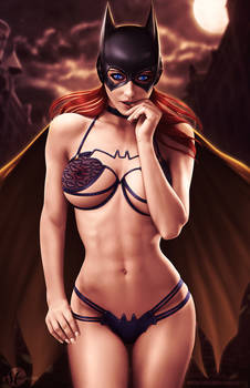 Batgirl - Lingerie Version