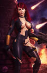 Black Widow - Torn Clothes