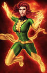 JeanGrey - Phoenix Green