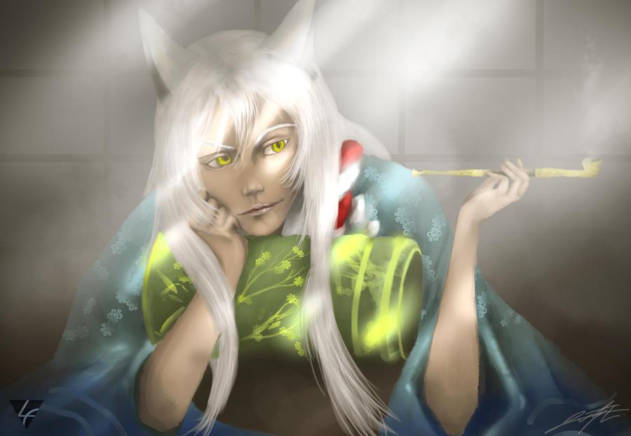 Kokkuri-san by dr8gonwolf666