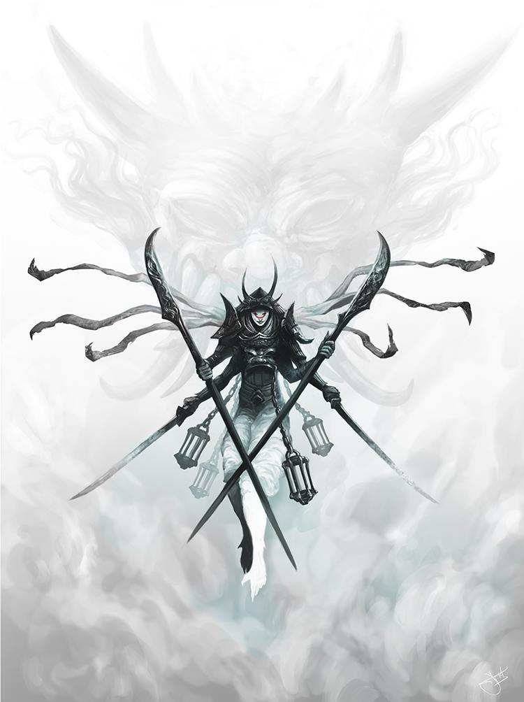 Ghost Walker by SixFootEwok