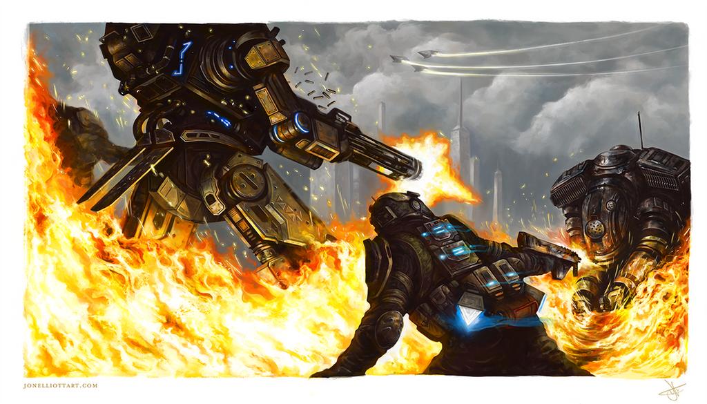 Titanfall 2 Fanart by SixFootEwok
