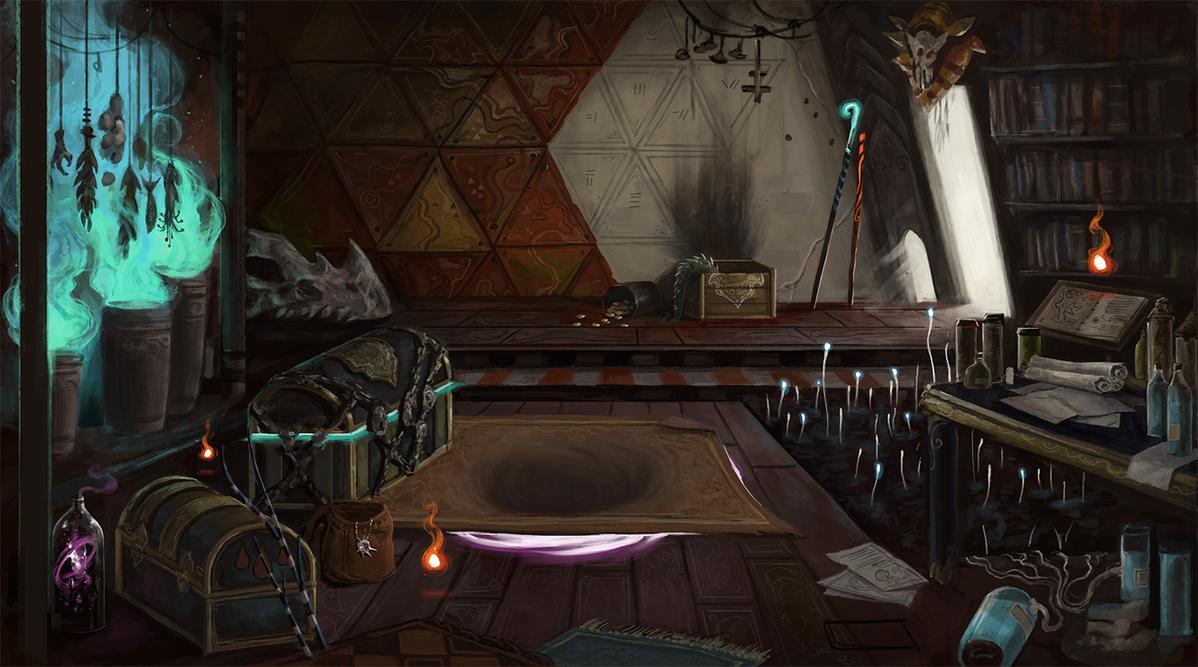 Wizard Hut (WIP) by SixFootEwok