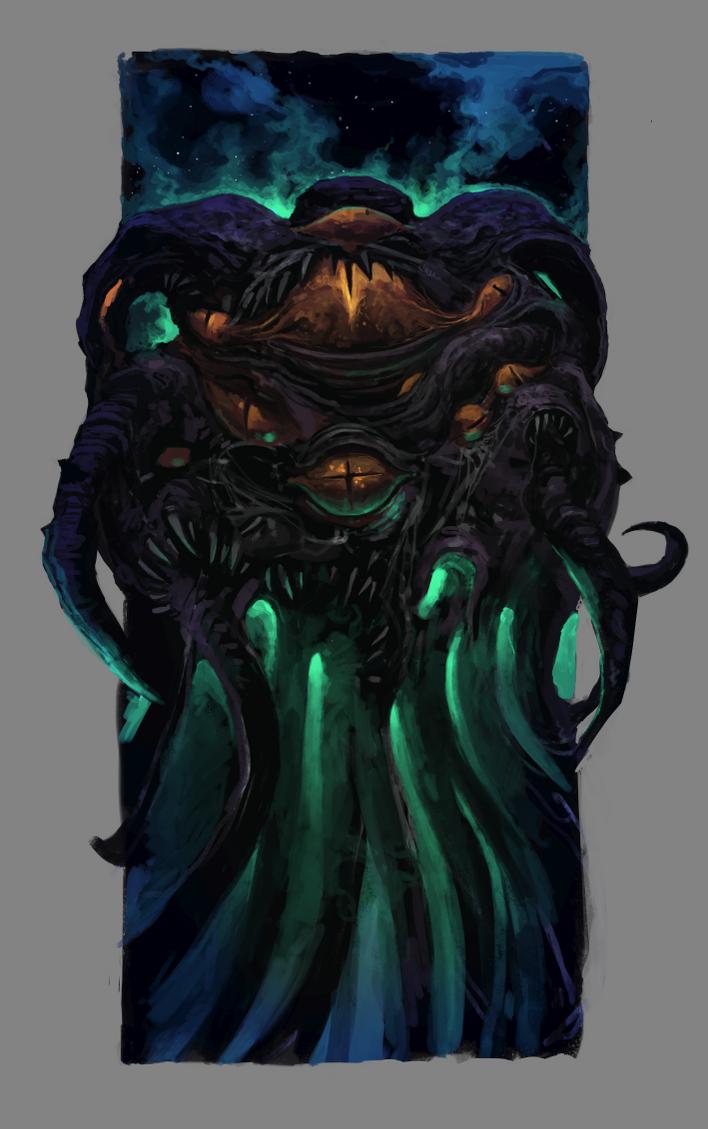 Azathoth by SixFootEwok