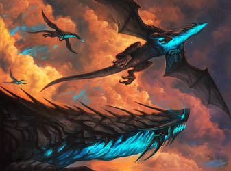 Flight of the Harbingers by SixFootEwok