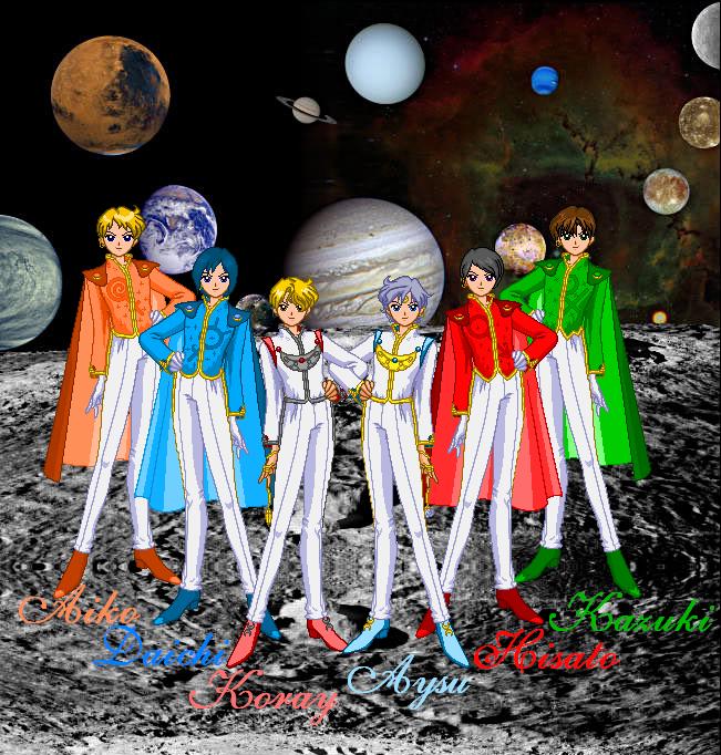 sailor moon solar system - photo #6