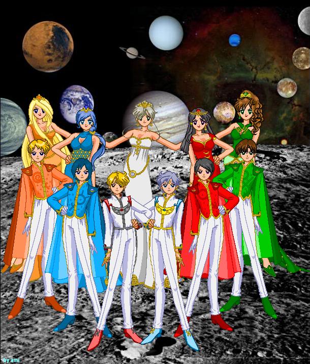 sailor moon solar system - photo #1