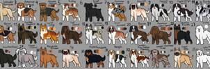 Gacha Canine Breed design adopts!