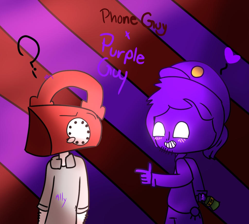 Phone guy x purple guy fanfic lemon - Phone Guy X Purple Guy By Allyomg
