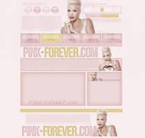 Pink-Forever.com - Ordered WordPress Theme by lenkamason