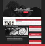 ShakiraFans.cz - Ordered Wordpress Theme