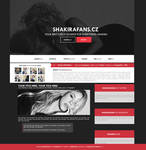 ShakiraFans.cz - Ordered Wordpress Theme