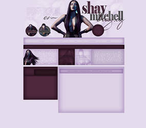 Shay Mitchell Free Layout by lenkamason