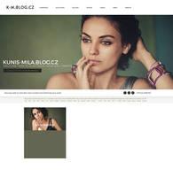 Kunis-Mila.blog.cz | Ordered Layout by lenkamason