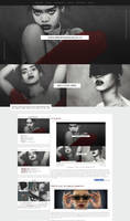 THEQUEENRIHANNA | ordered layout by lenkamason
