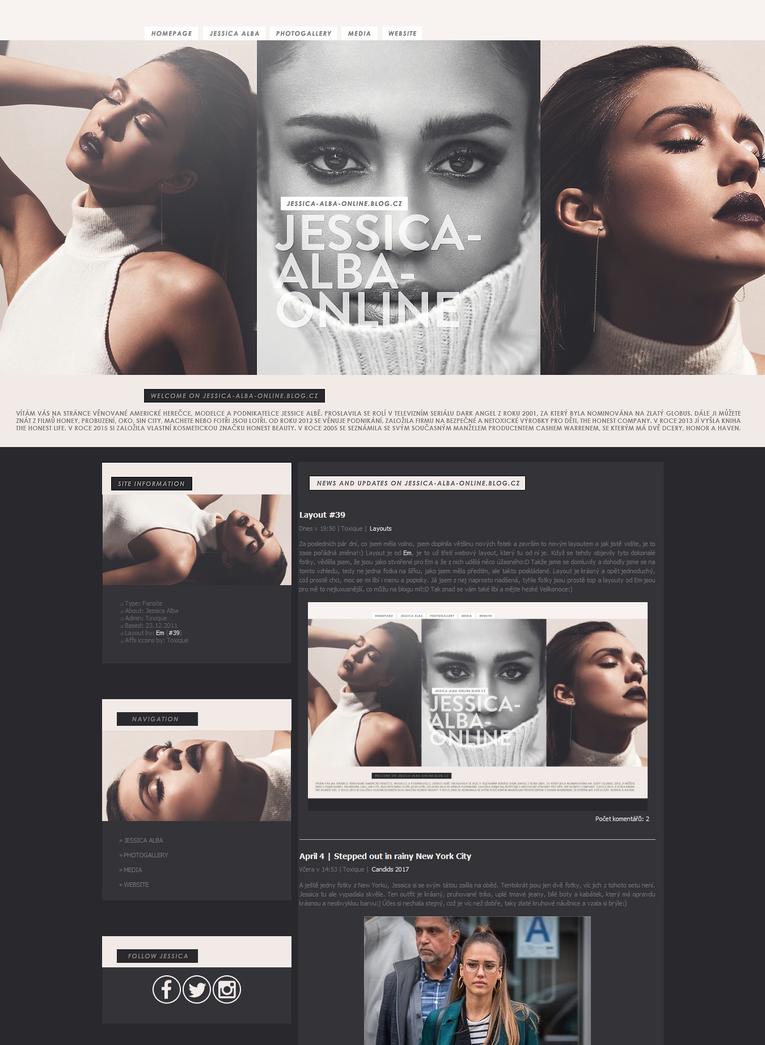 JESSICA-ALBA-ONLINE | Ordered Layout by lenkamason