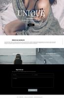 UNIQUE webdesign by lenkamason