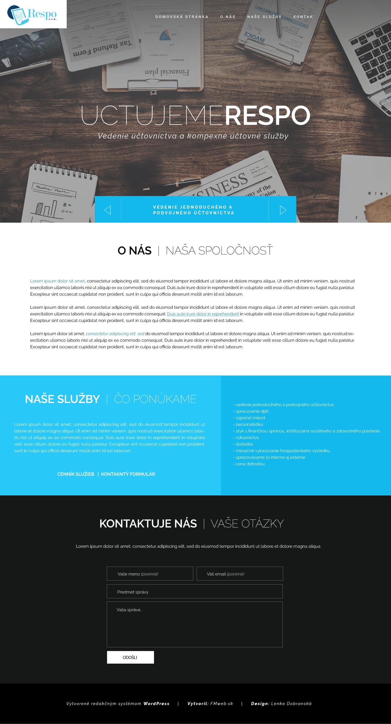 Ordered Design | UCTUJEMERESPO.SK by lenkamason