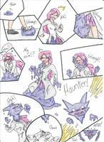 Haunter Transformation by RaiinbowRaven