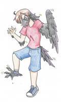 Raven Girl TF TG