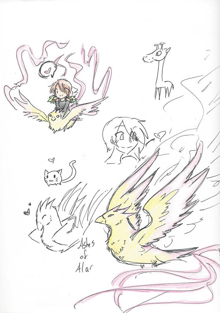 Sketchdump1 by RaiinbowRaven