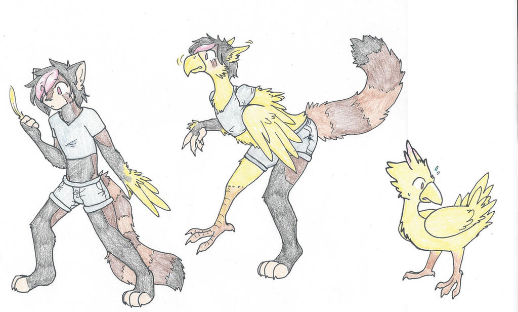 Chocobo tf by RaiinbowRaven