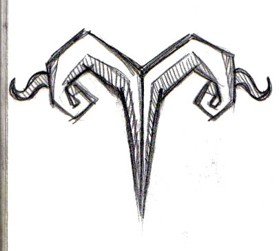 Aries Zodiac Tattoo By Symbolofsoul On Deviantart