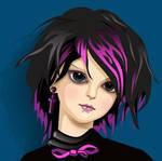 Goth Girl, pretty
