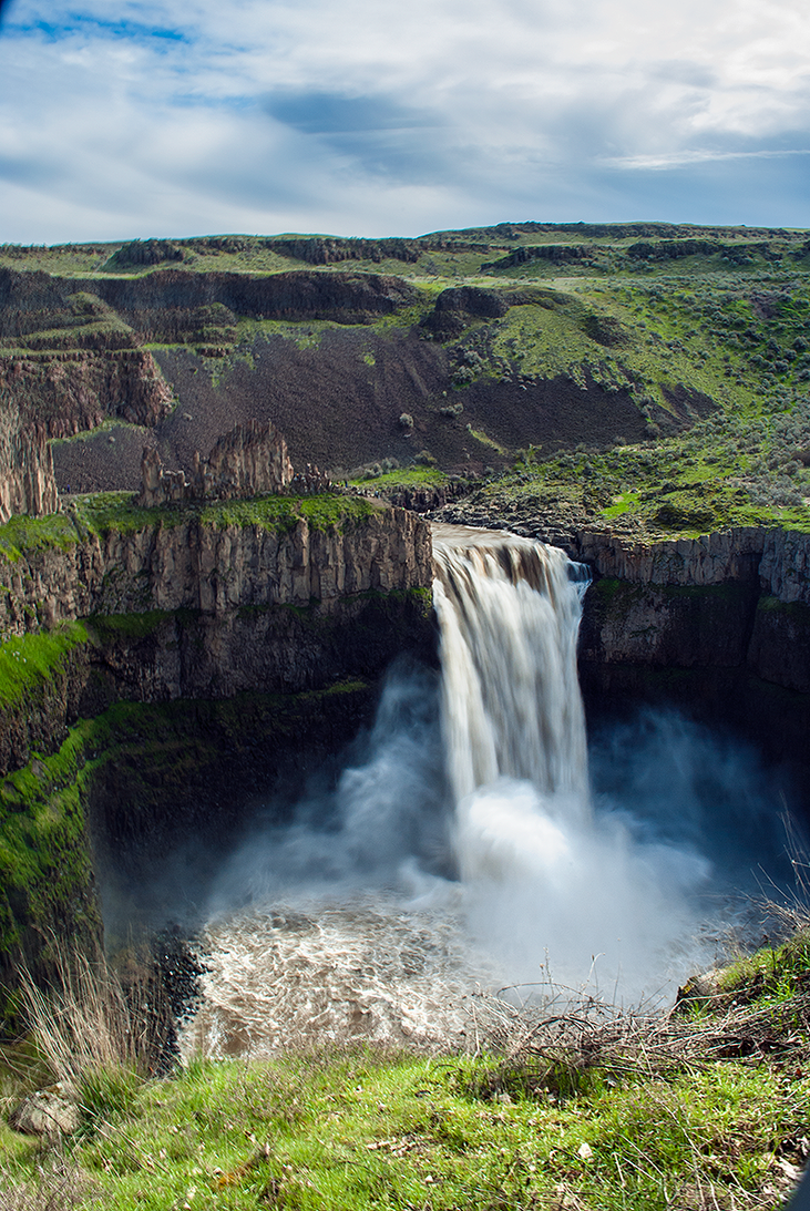 Palouse Falls by Verticae