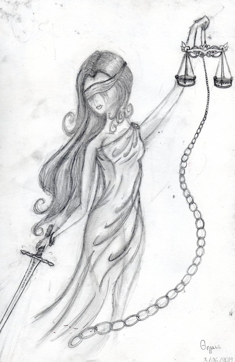 themis goddess of justice by kingoftheplatypus on deviantart