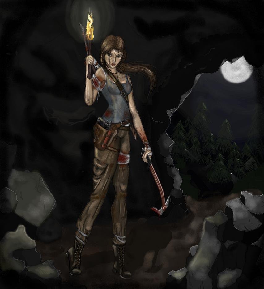 Tomb Rider Wallpaper: The Tomb Raider By Kingoftheplatypus On DeviantArt
