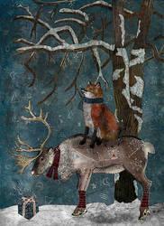 Winter Tale by FrancescaRizzatoArt