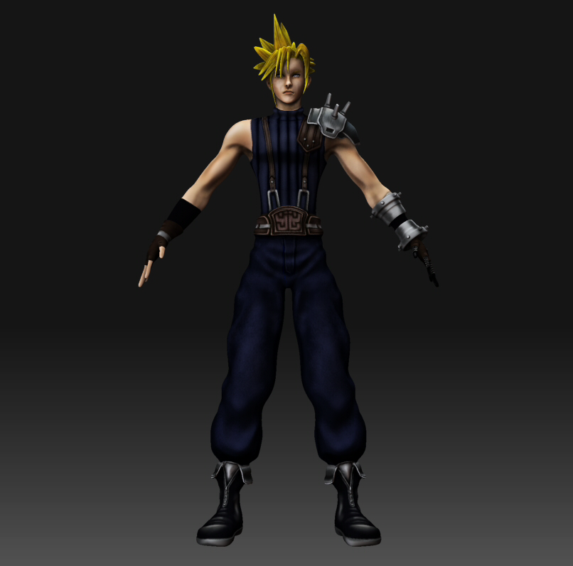 Final Fantasy Cloud Strife Wallpaper: Cloud Strife Project By TulioMinaki On