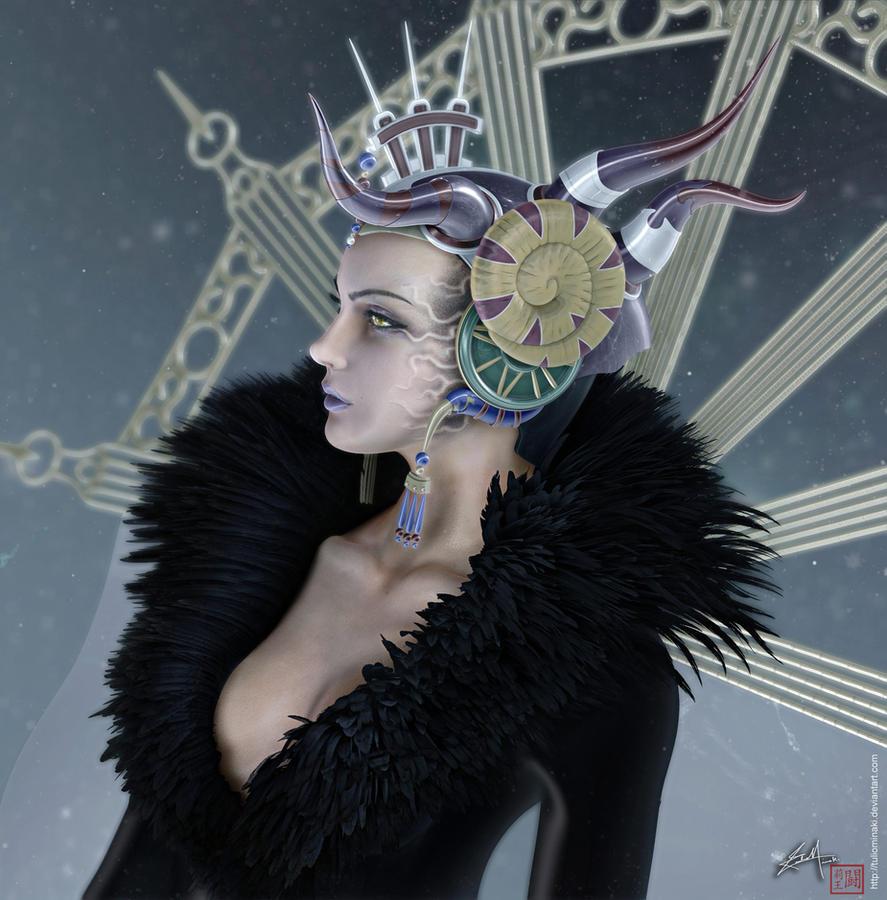 Final Fantasy VIII - Edea Kramer by TulioMinaki
